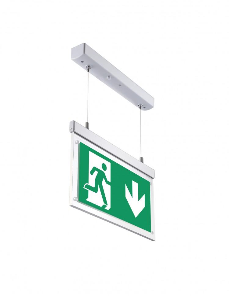 Emergency Suspended Exit Sign – 3 watt