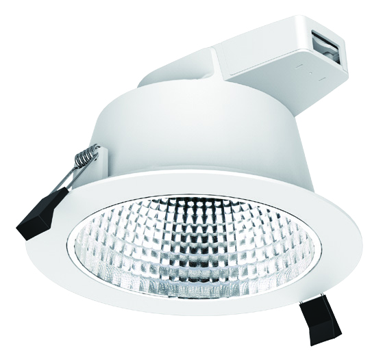 C-Dome Downlight – (228mm) – 25 watt – (Faceted Reflector)