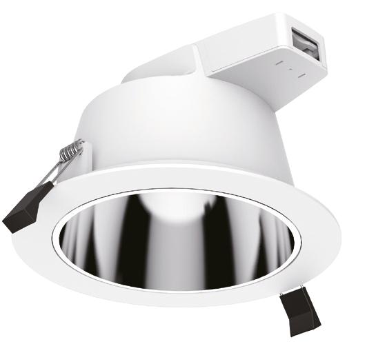 C-Dome Downlight – (228mm) – 25 watt – (Specular Reflector)